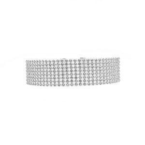 NWT rhinestone chocked necklace! 😍